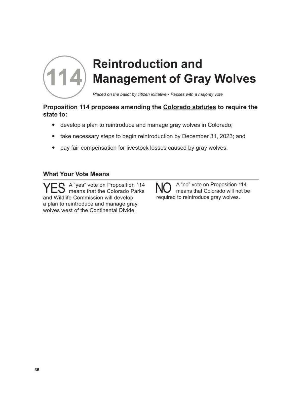 Prop 114 Blue Book summary 2020