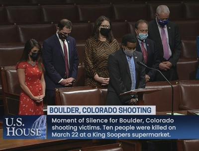 moment of silence for Boulder
