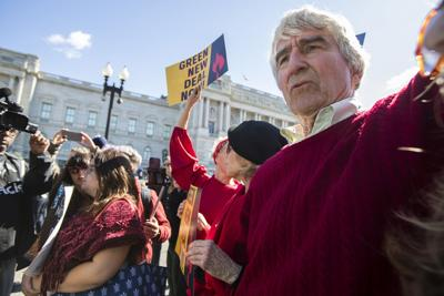 Sam Waterston Climate Protest