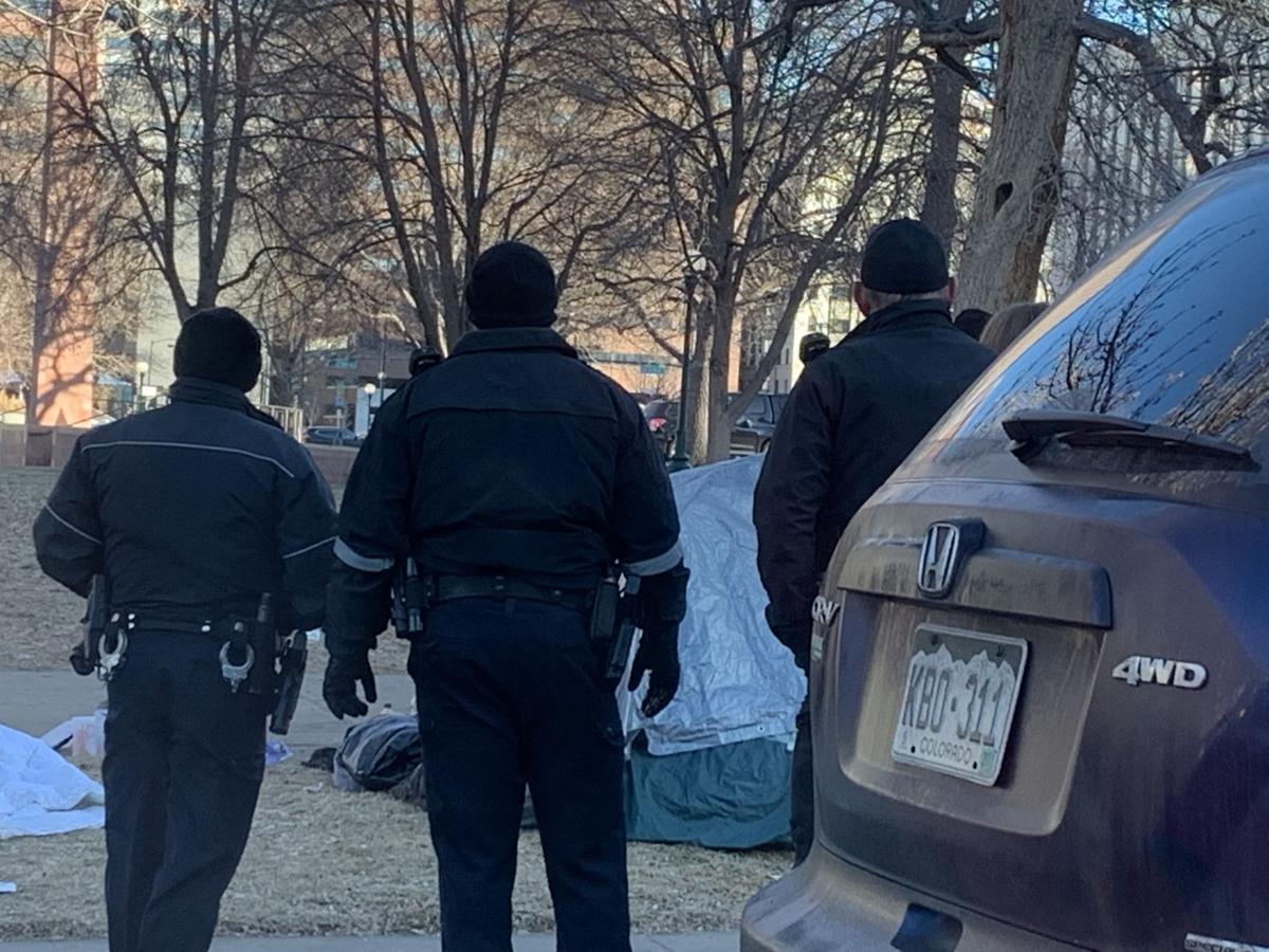 Denver Police Liberty Park 011520