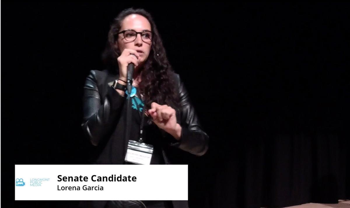 Dem Senate Latinx Forum Garcia