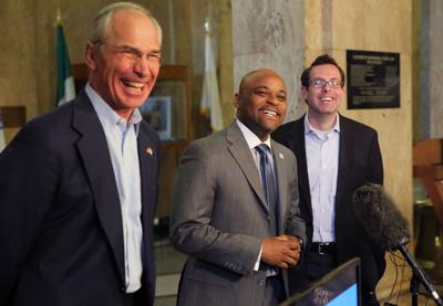 Denver Mayor Hancock, Bob Beauprez, Ryan Call