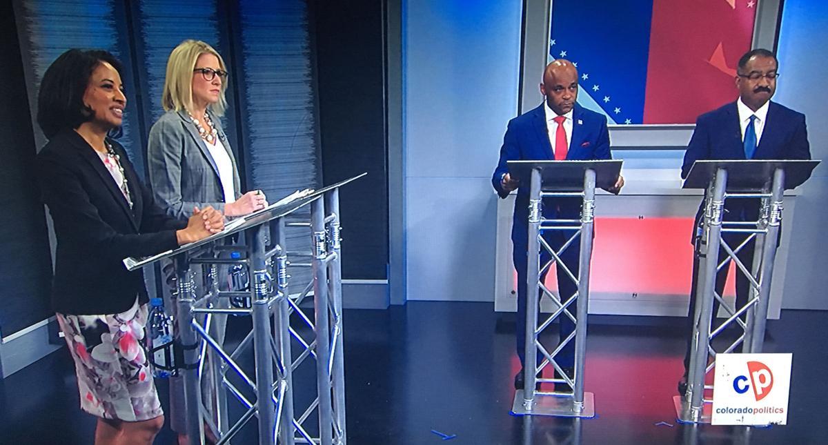 Denver mayor candidates debate