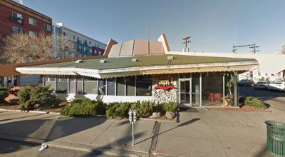 Tom's Diner, at 601 E. Colfax Ave. in Denver.