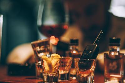Drunk driver binge drinking