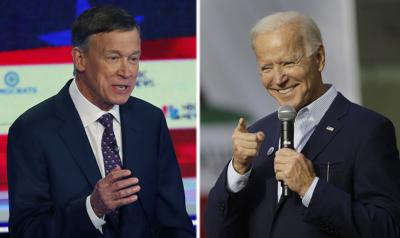 Election 2020 Hickenlooper Biden