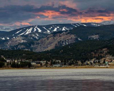 Sunset in Nederland, Colorado Eldora