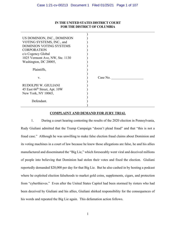 Dominion v. Giuliani Complaint.pdf