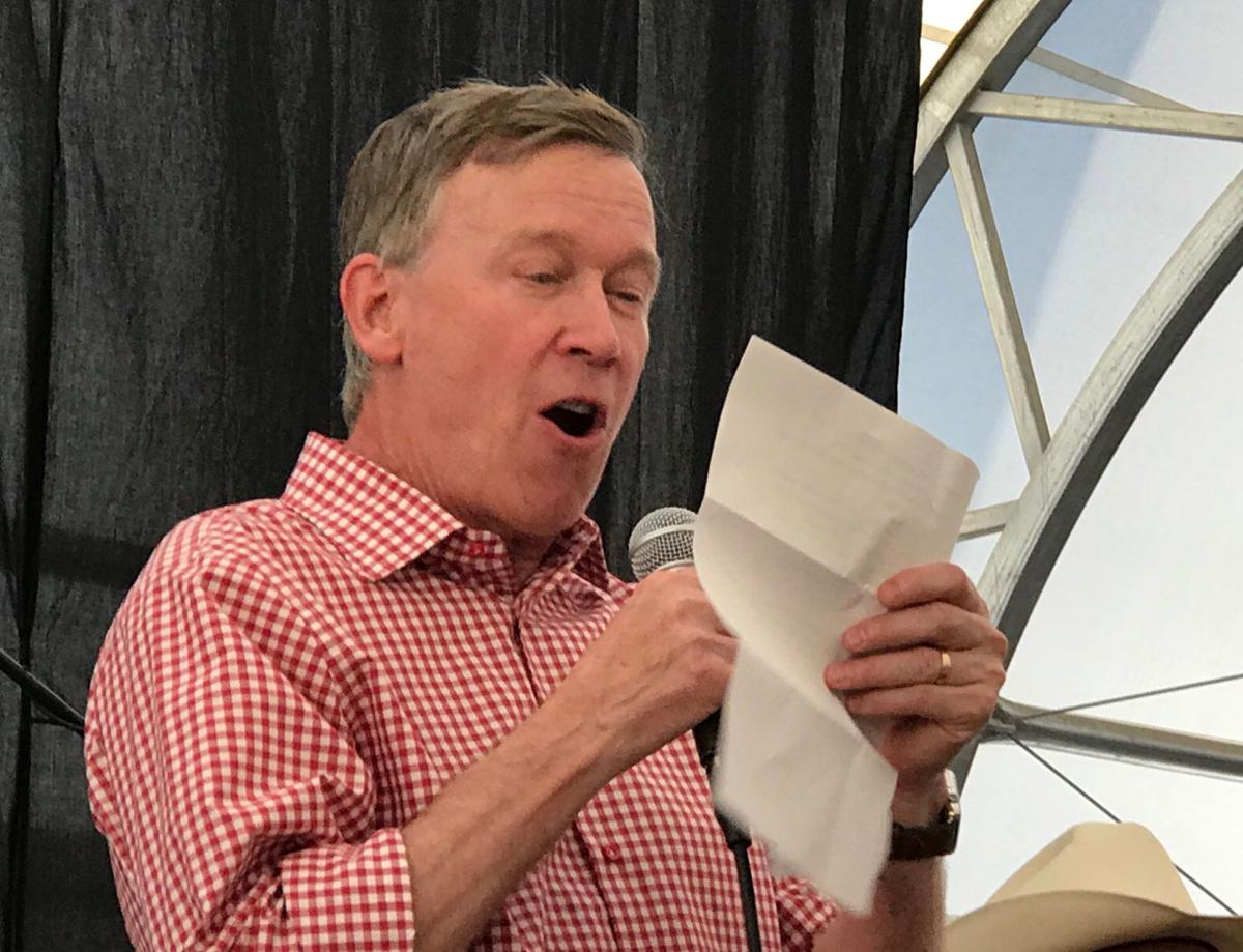 Hickenlooper speech