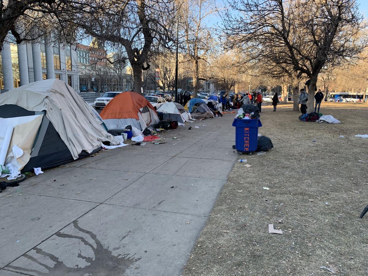Tents, Liberty Park