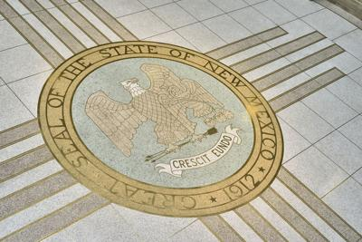 Seal of New Mexico in the State Capitol