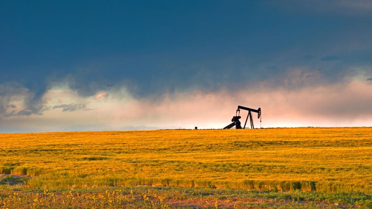 Pump jack oil gas