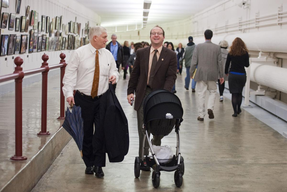 COVER STORY Jared Polis stroller