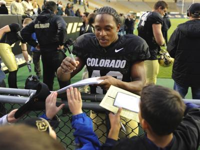 University Of Colorado Football Scrimmaged