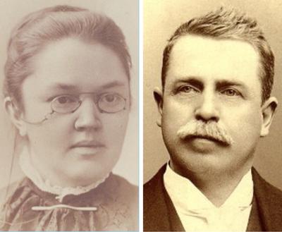 Katherine Lee Bates, Samuel A. Ward