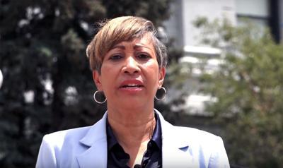 Angela Williams Senate announcement