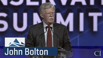 John Bolton in Denver