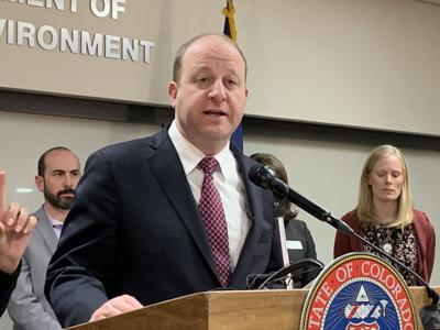 Gov. Jared Polis announces first two cases of COVID-19