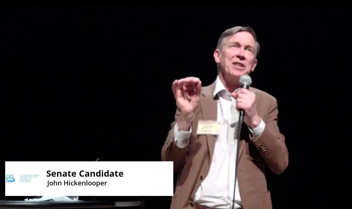 Dem Senate Latinx Forum Hickenlooper