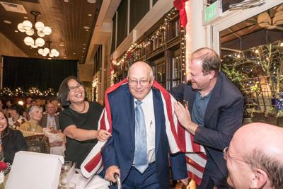 Politicos honor behind-the-scenes player Henry Strauss on his 90th birthday