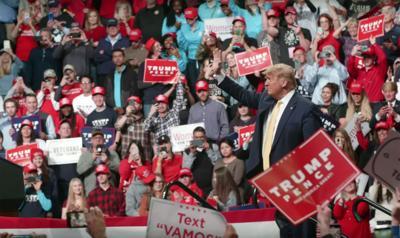 Trump campaign ad Stronger