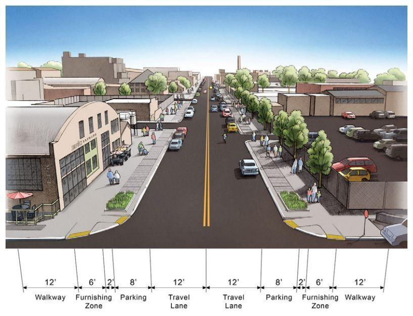 Denver's RiNo neighborhood is getting a 'new look and feel' to help tame traffic