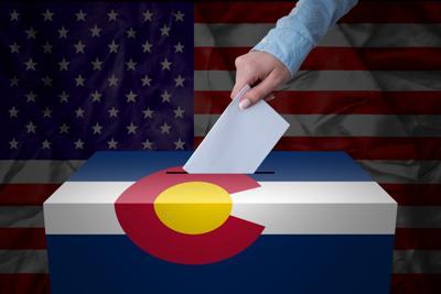 Election Colorado ballot illustration