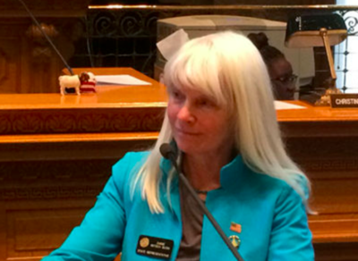 Congressional candidate Diane Mitsch Bush defends socialist reading