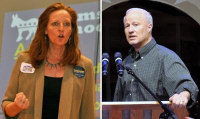 Coffman, Carroll spar over debate schedule