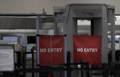 Government Shutdown Airport Terminal TSA