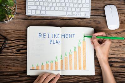 Retirement Plan Growth Concept