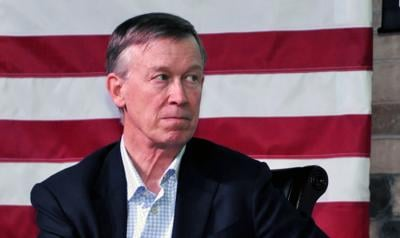 Election 2020 Hickenlooper Aurora