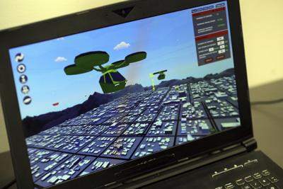 Drone Traffic Video Game