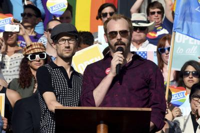 Crowd denounces Masterpiece Cakeshop ruling at Capitol rally