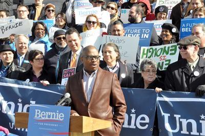 VIDEO: Colorado legislators endorse Bernie Sanders at Capitol rally