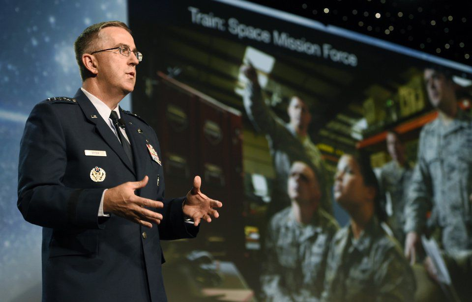 """Symposium hears call for """"Space Force"""" as an equal branch of U.S. Military"""
