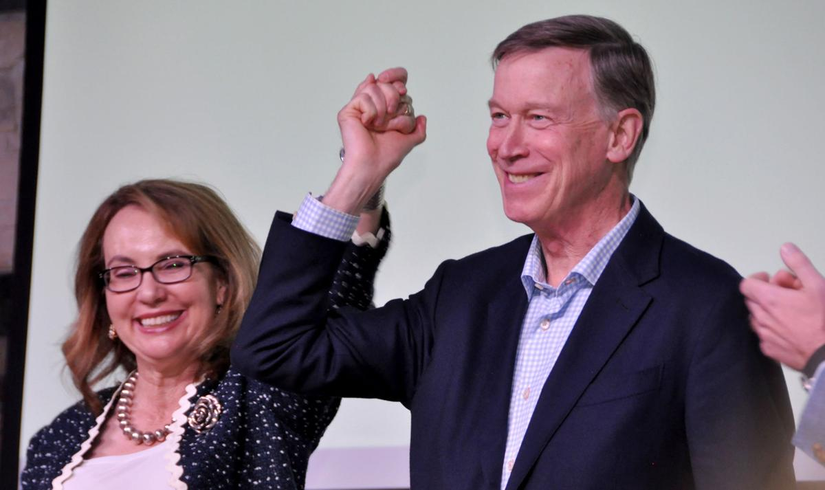 Election 2020 Hickenlooper Giffords Aurora