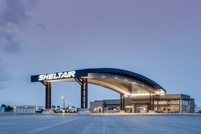 Sheltair hangar at Rocky Mountain Metropolitan Airport