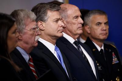 WATCH: Top US officials warn of 'pervasive' Russian attack on 2018, 2020 elections