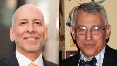 Henry Sobanet and Ben Stein