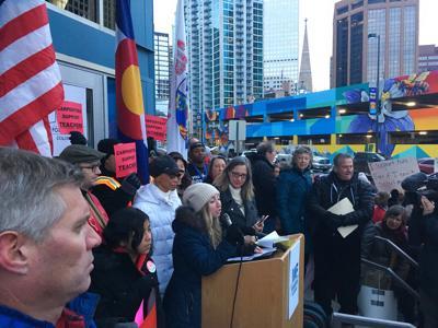 Denver Teacher Rally