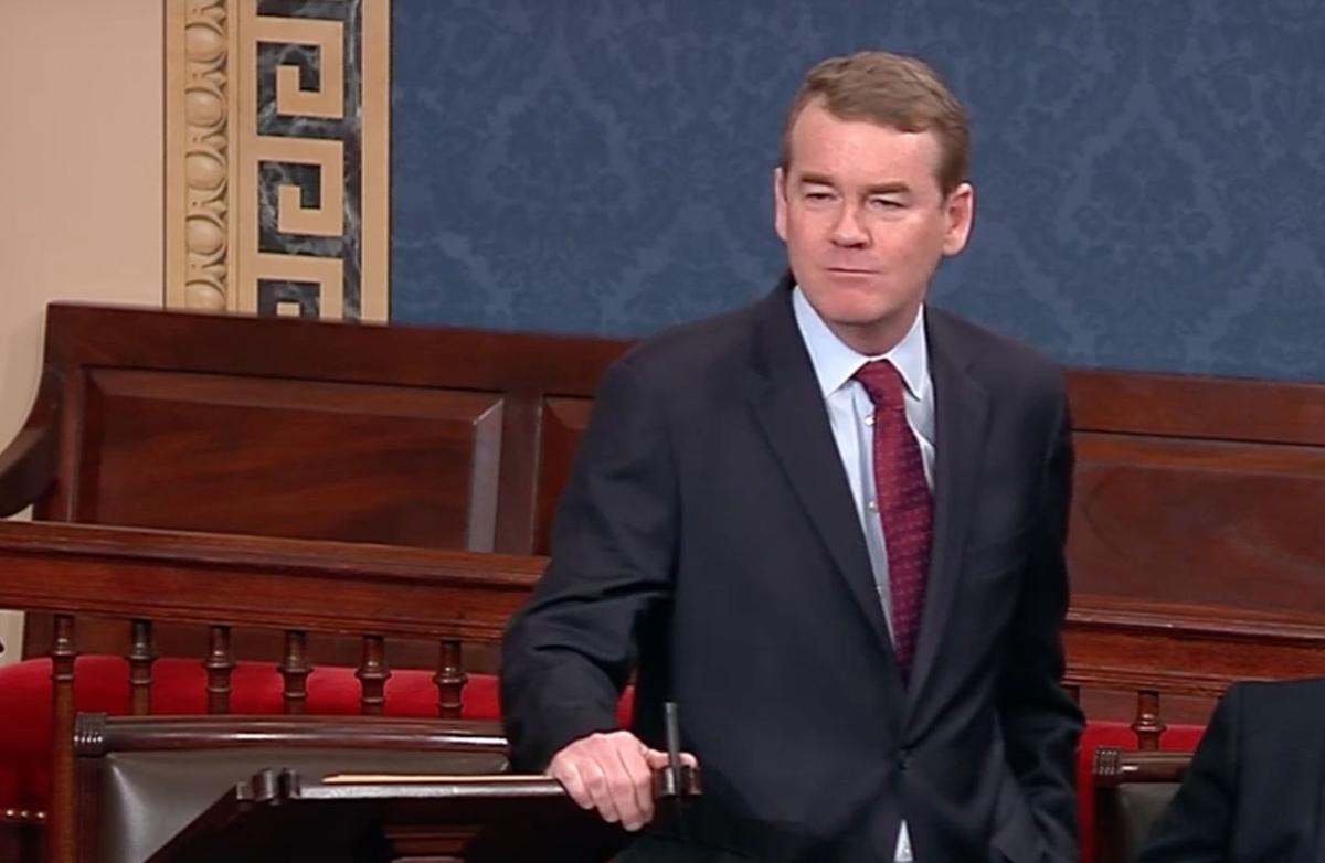 Bennet Tears Into Ted Cruz Over Shutdown In Fiery Speech
