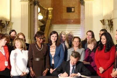 Gov. John Hickenlooper announces commission to celebrate women's right to vote