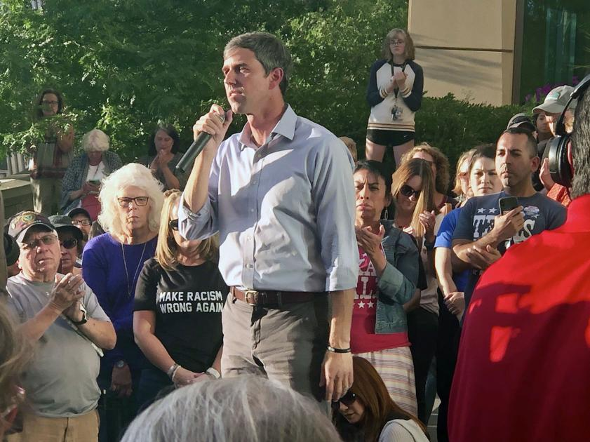 Beto O'Rourke, in Colorado, says he's open to broadening gun-buyback proposal