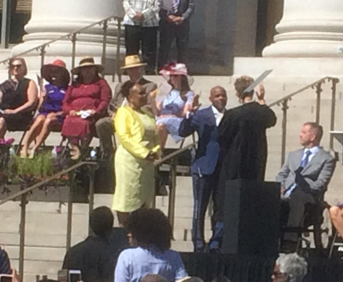 Denver Mayor Michael Hancock sworn in