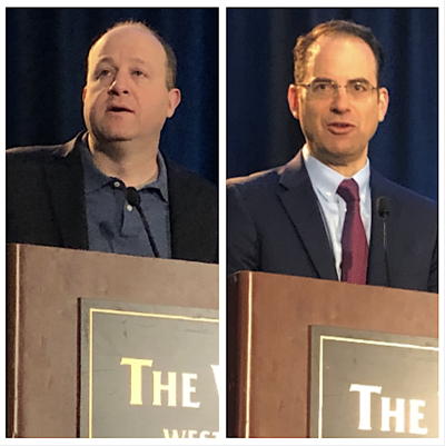 Jared Polis and Phil Weiser