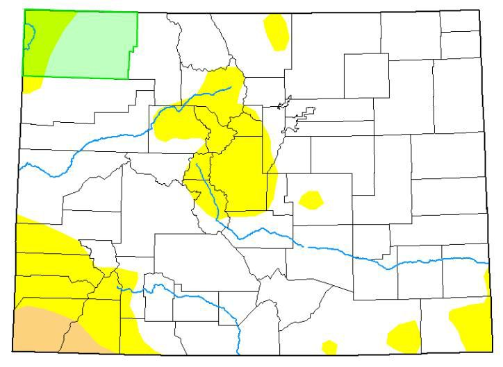 US Drought Monitor week of August 29, 2019
