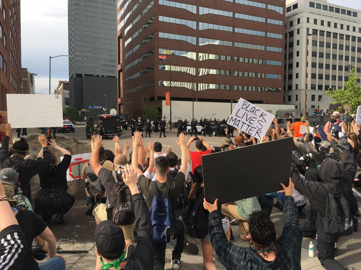 UPDATES | Third day of riots in Denver mar day's earlier peaceful  demonstrations | News | coloradopolitics.com