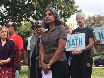 Radhika Nath press conference