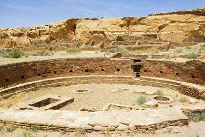 Chetro Ketl Ruins - Chaco Culture National Historical Park